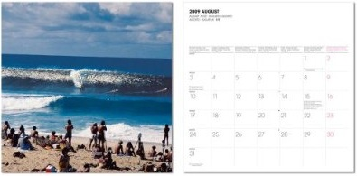 Grannis, Surf photography Calendar 2009